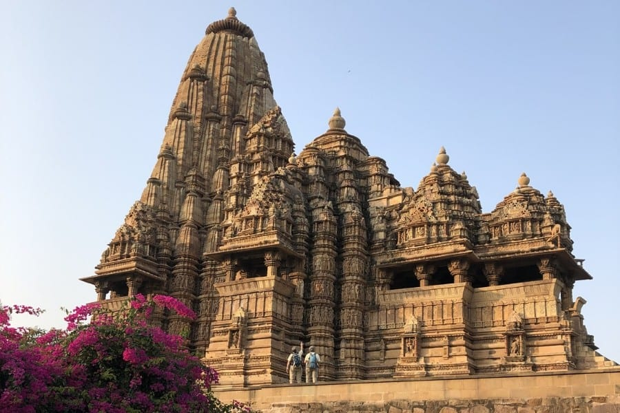 afternoon at khajuarho temples india