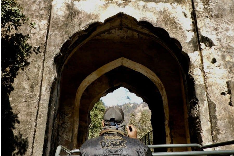 ruins at ranthambore park india