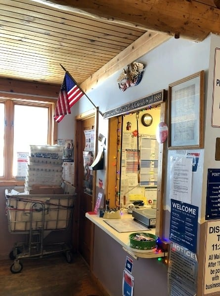The USPS at the Clark General Store dates to 1889