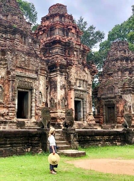 Cambodia monument Preah Ko