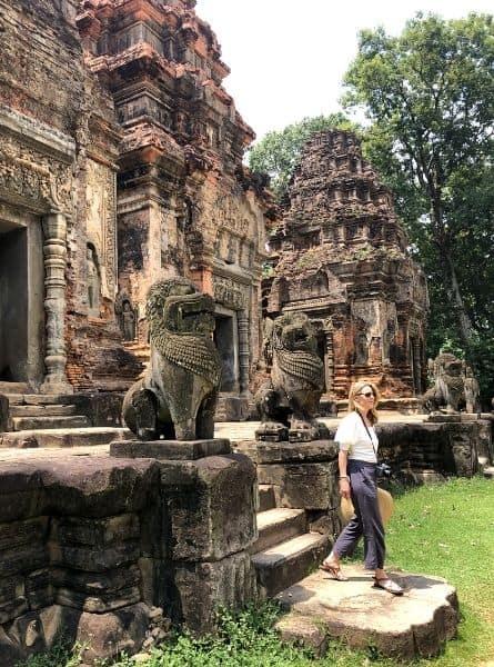 The front of Preah Ko Cambodia