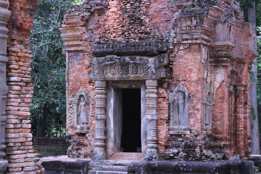 One of six towers at Preah Ko