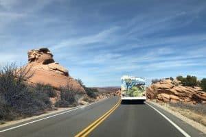 camper van road trip us southwest