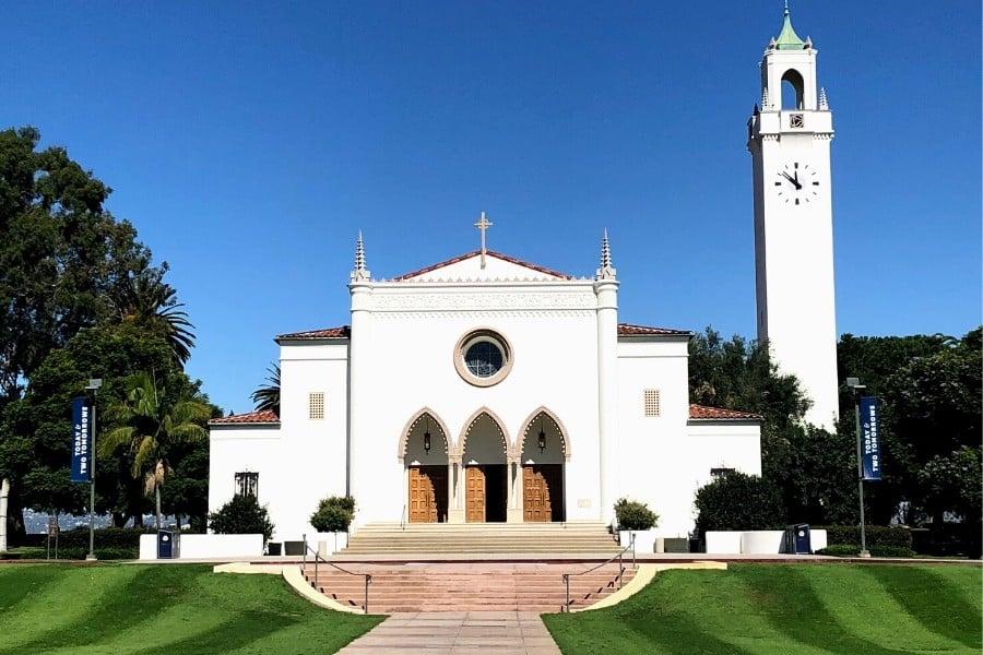 loyola marymount university sacred heart chapel