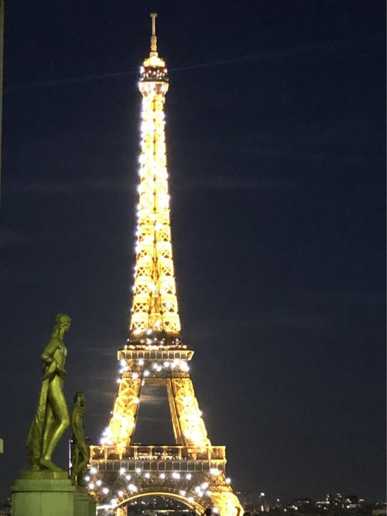eiffel tower illuminations