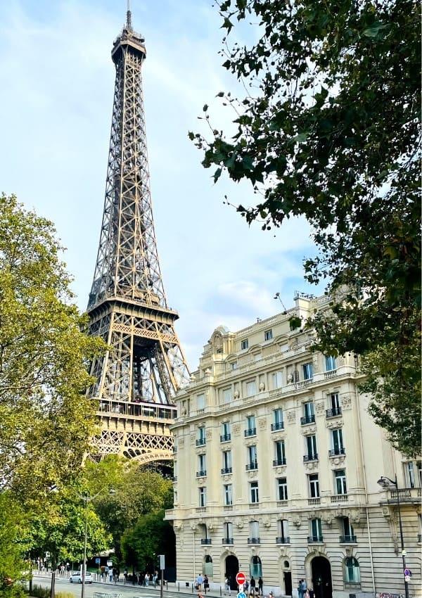 Eiffel Tower View from the Promenade Marie de Roumanie