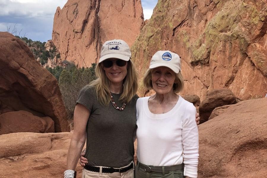 exploring colorado with my mother