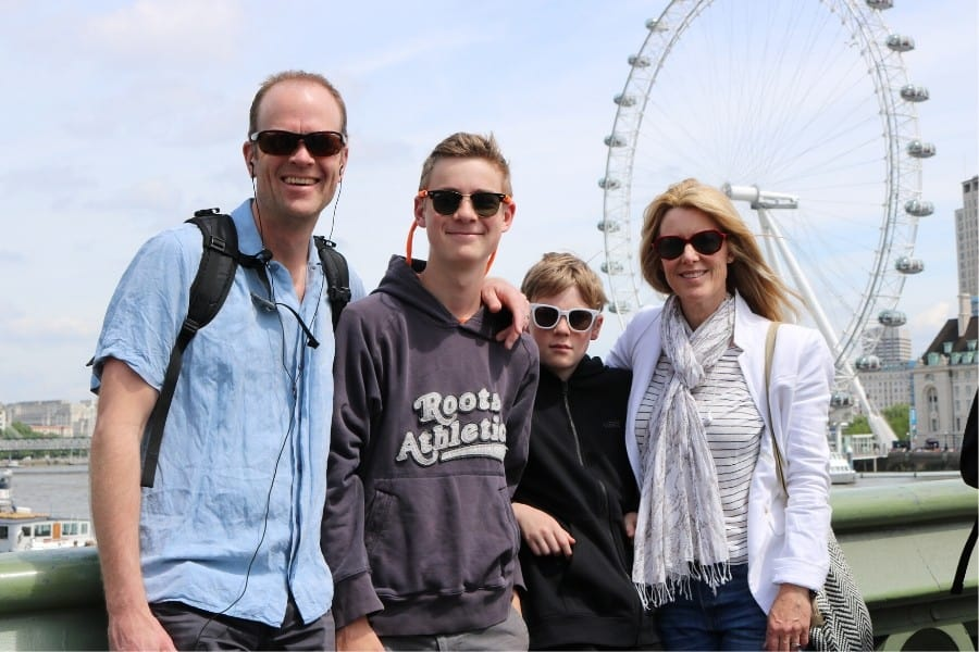 family trip to london