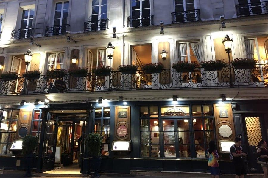le procope oldest cafe paris