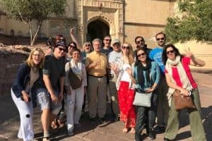 Plan a trip to India with a group tour. This is our G Adventures Group in Jodhpur, Rajasthan