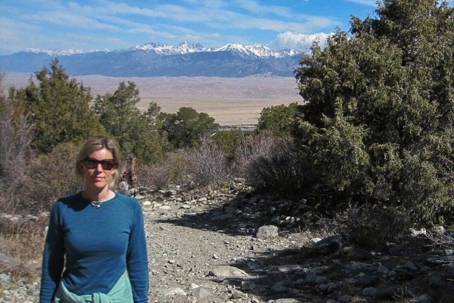 hiking great sand dunes park