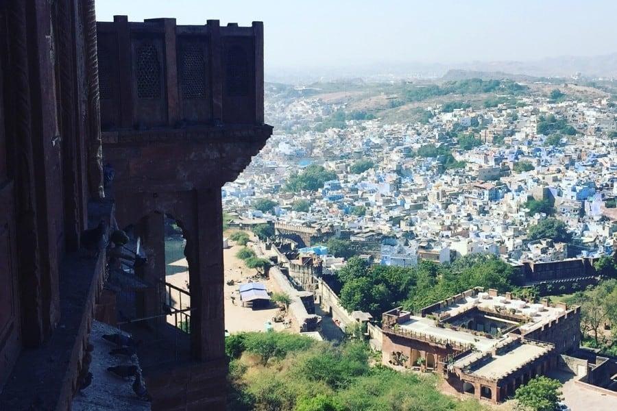 jodhpur india's blue city