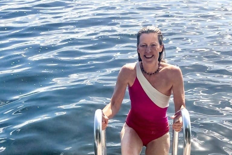 Fit at Fifty and enjoying summer swimming in Canada