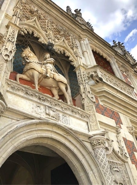 The chateau Blois in the Loire Valley