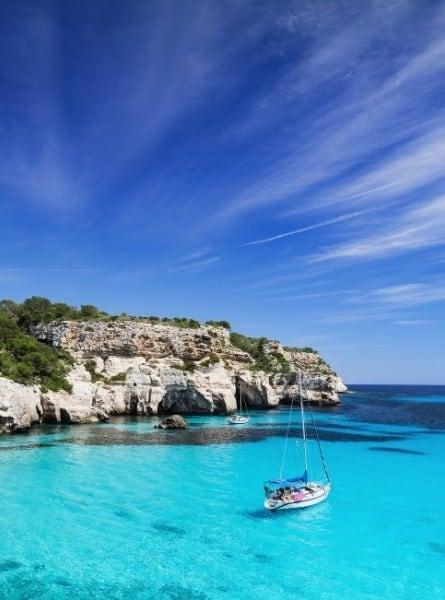 The beautiful coastline of Croatia