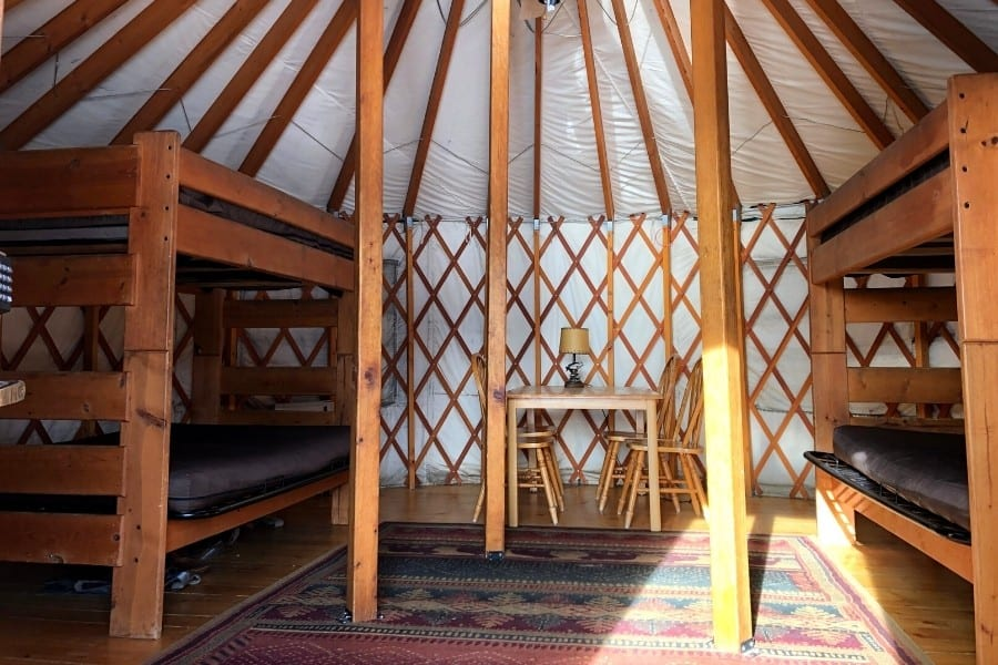 Camping In Yurts In Colorado S Scenic State Parks Midlife Globetrotter Situated in whitewater, this romantic apartment building is 0.1 mi (0.1 km) from unaweep canyon and. yurts in colorado s scenic state parks