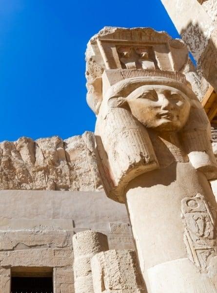 Statue of Hatshepsut in Egypt
