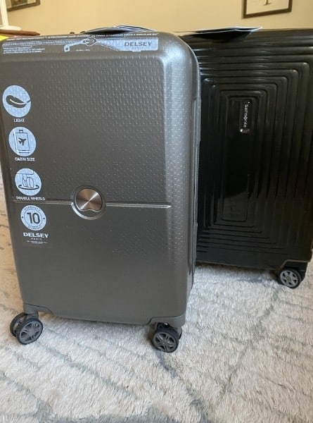 Delsey vs Samsonite, ultra lightweight carry on luggage