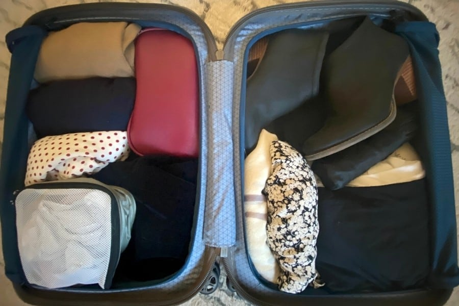 Delsey Turenne packed for Paris