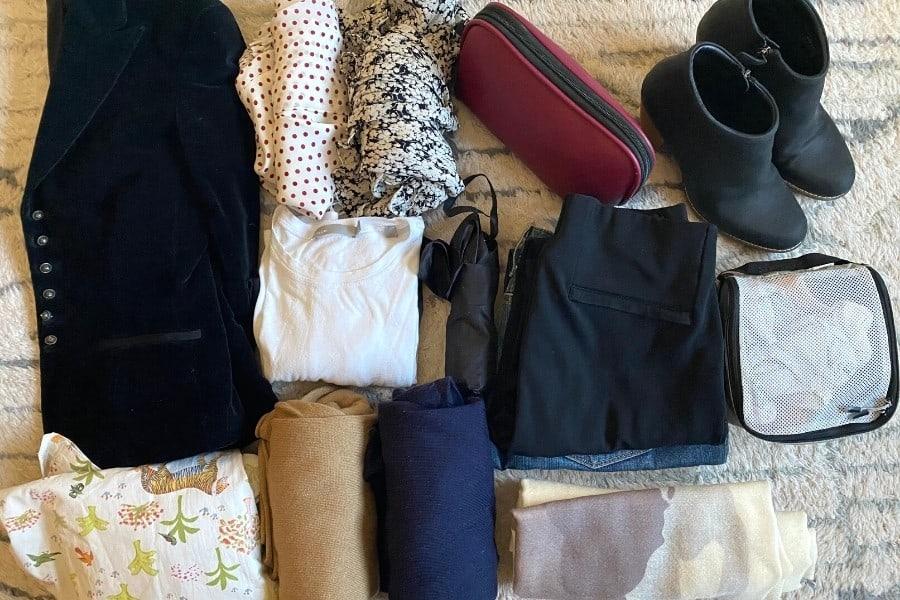 Wardrobe for a fall trip to Paris