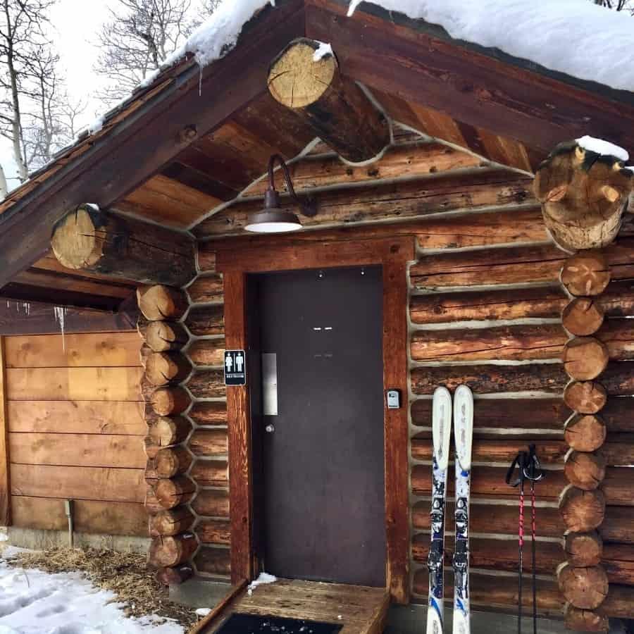 A cabin at Beaver Creek Resort