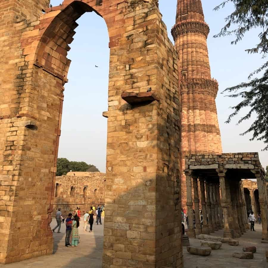 Qutb Minar a Unesco Heritage Site in Delhi India
