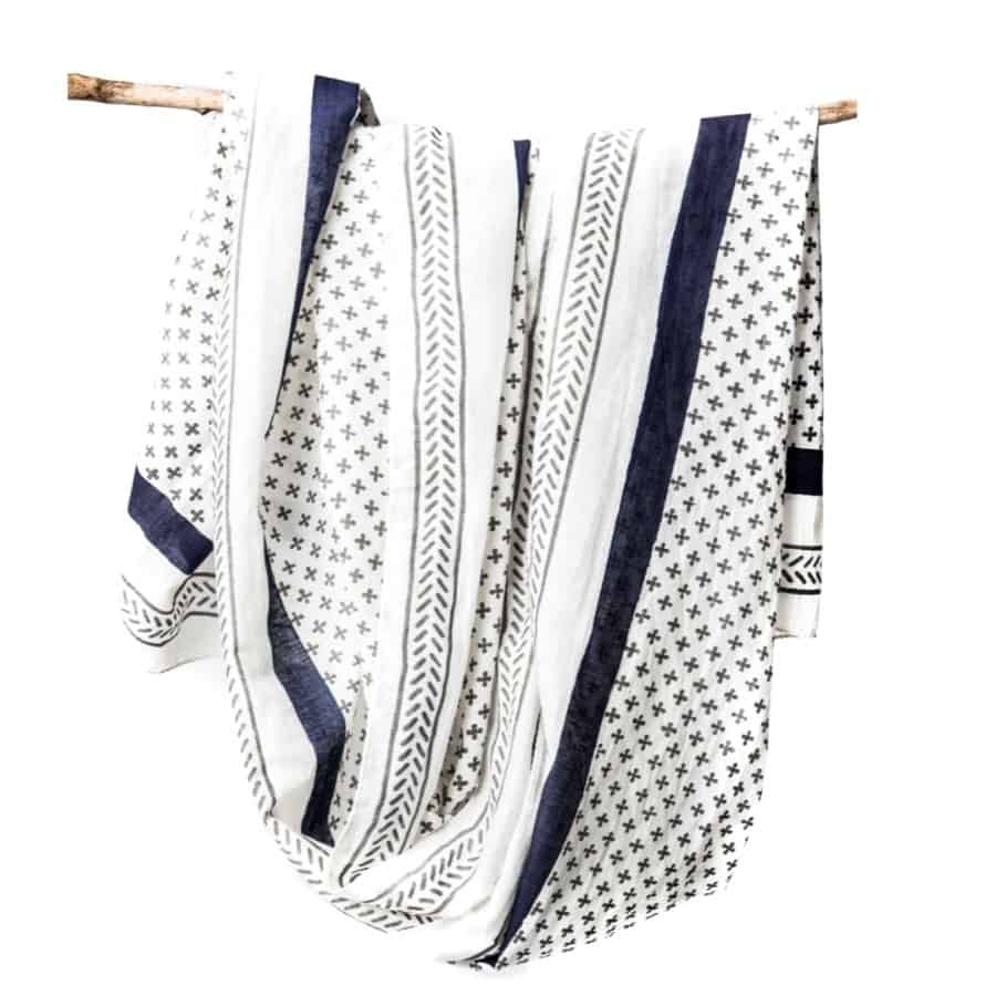 Santorini Cotton Scarf by Bloom & Give