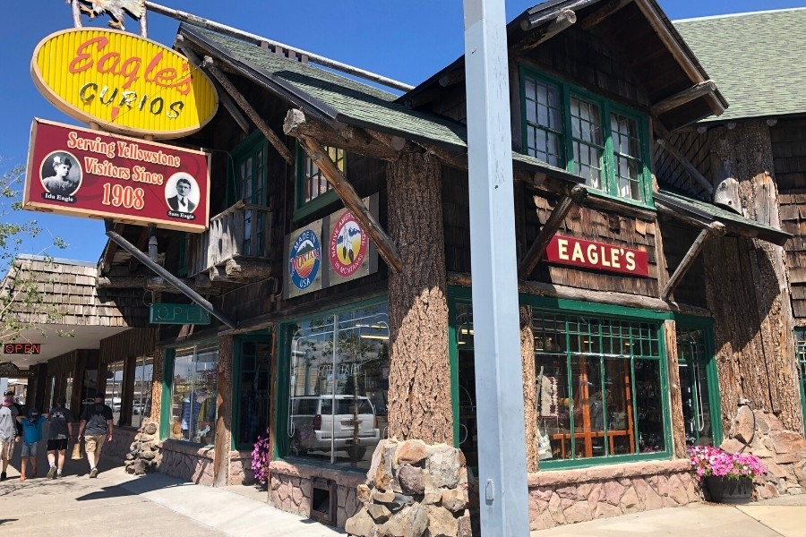 Eagle's store in West Yellowstone
