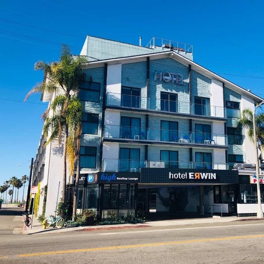 Hotel Erwin in Venice California