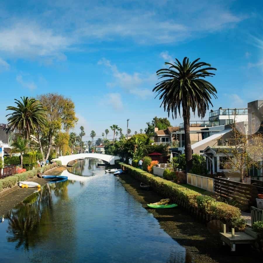 Historic Venice California Canals