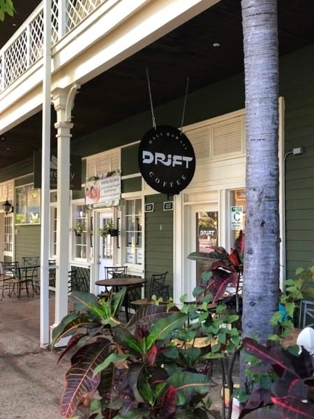Drift Coffee Shop ion Lahaina