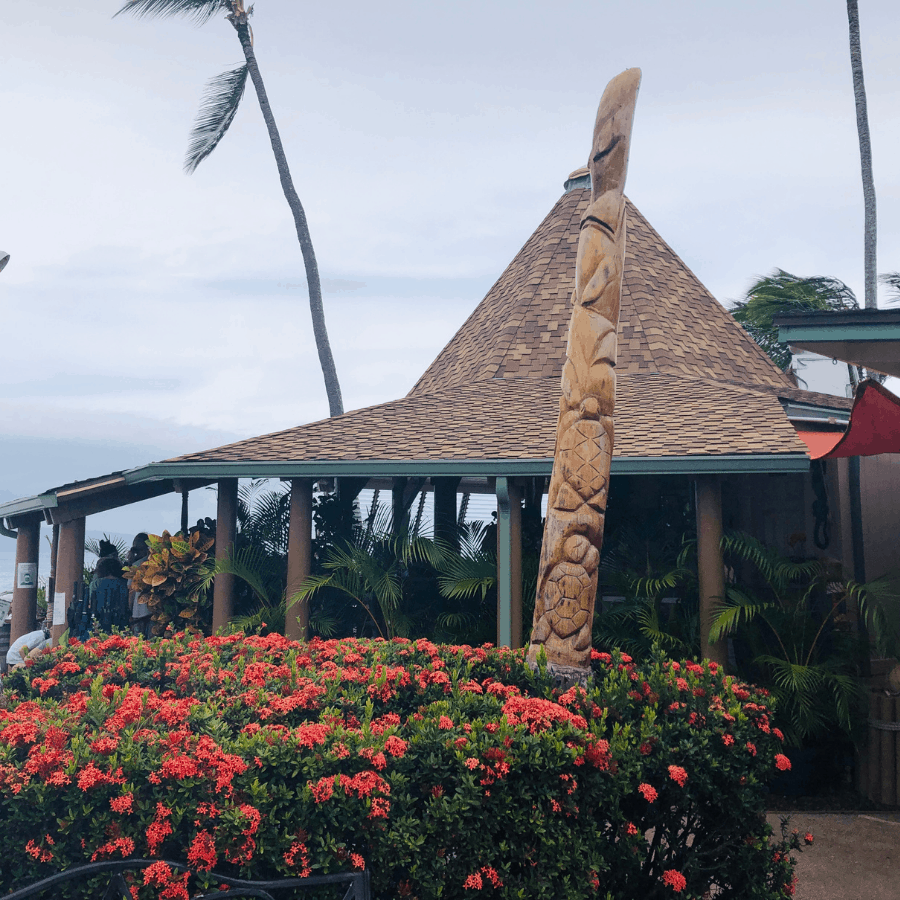 Gazebo Restaurant At Napili Beach Maui