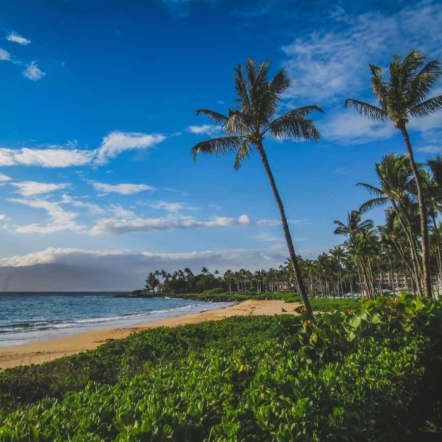 Wailea Beach in Maui