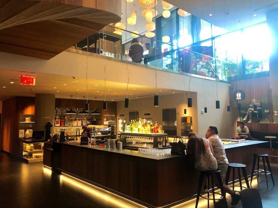 The Canteen restaurant at CitizenM Bowery New York