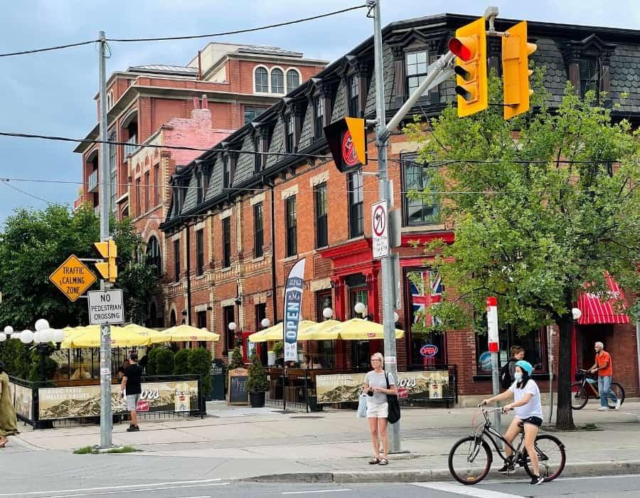 Queen Street West in Toronto