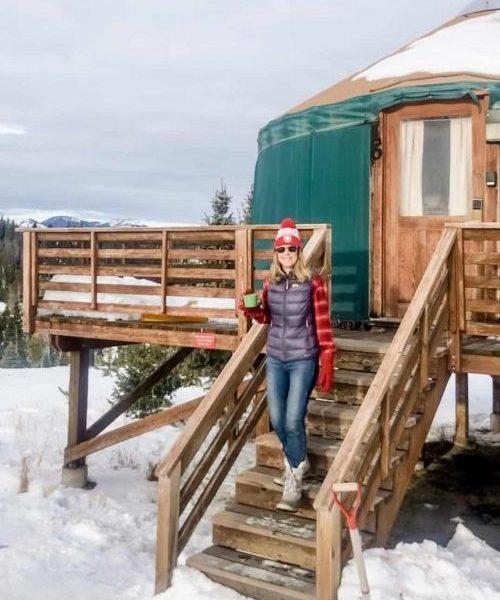 yurt camping pearl lake state park colorado